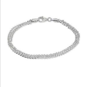 Giani Bernini three row chain bracelet